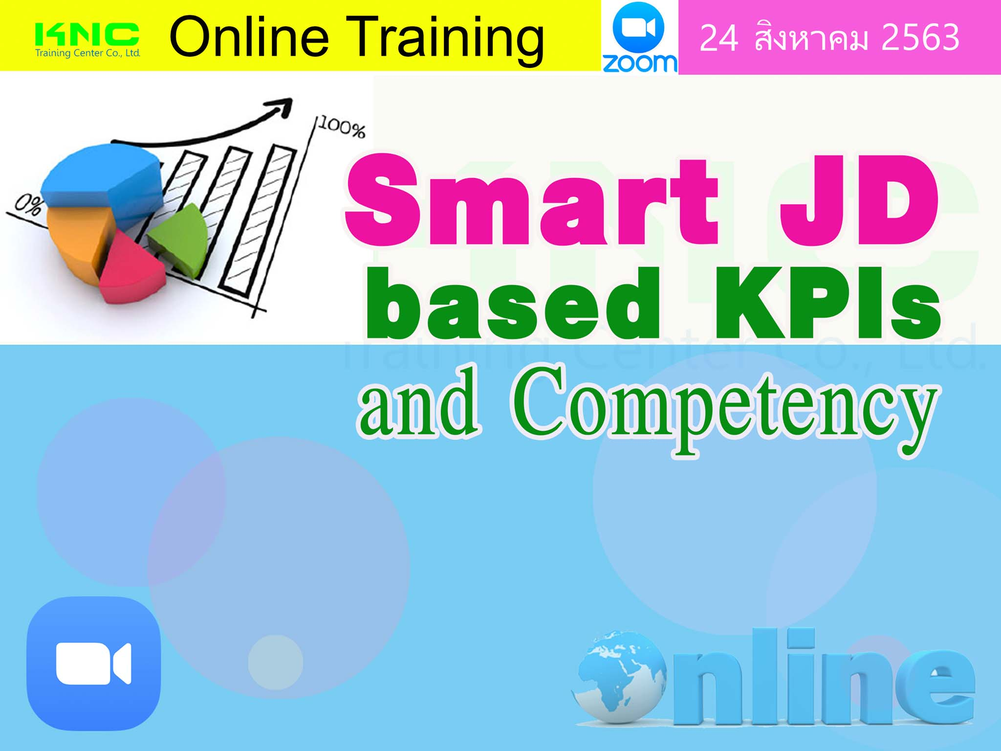 สัมมนา Online : Smart JD based KPIs and Competency